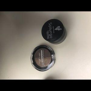 Mannakadar eyeshadow and splurge eye cream